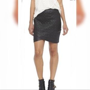 Mossimo Faux Leather Skirt